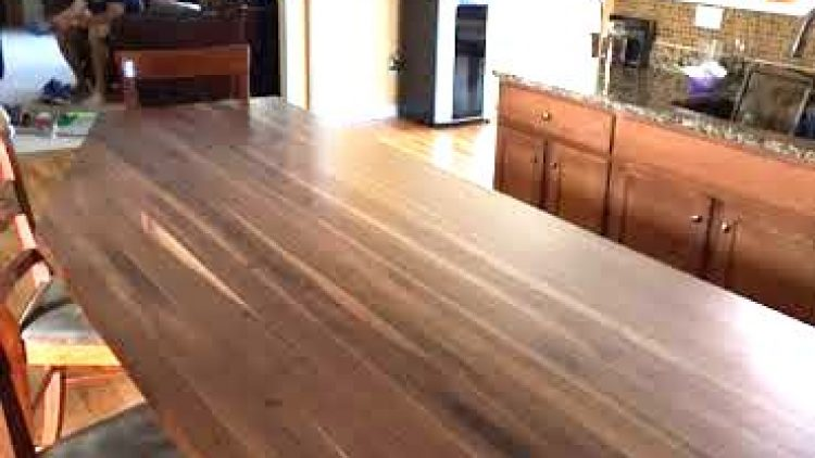 Solid Walnut Countertops