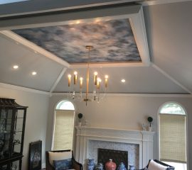 Mantle-Ceiling